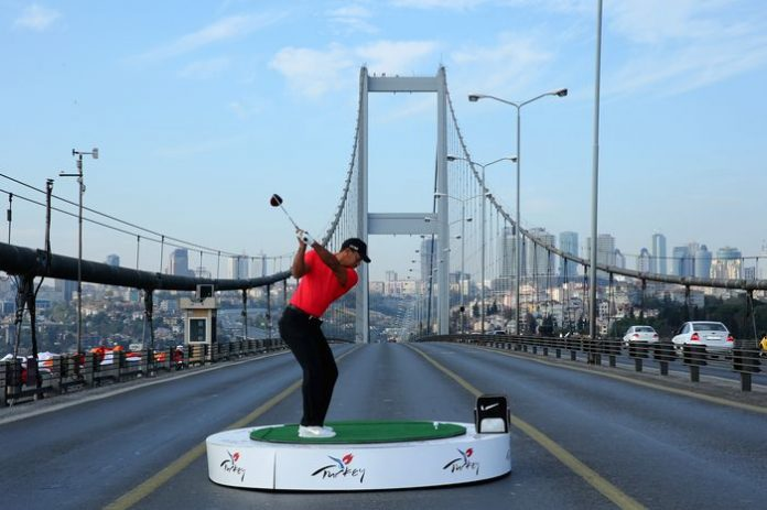 Customized Private Turkey Tours Tiger Woods drives from Asia to Europe