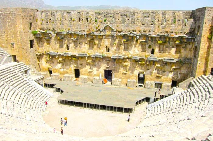 Guided Tours Turkey follow footsteps St. Paul Aspendos